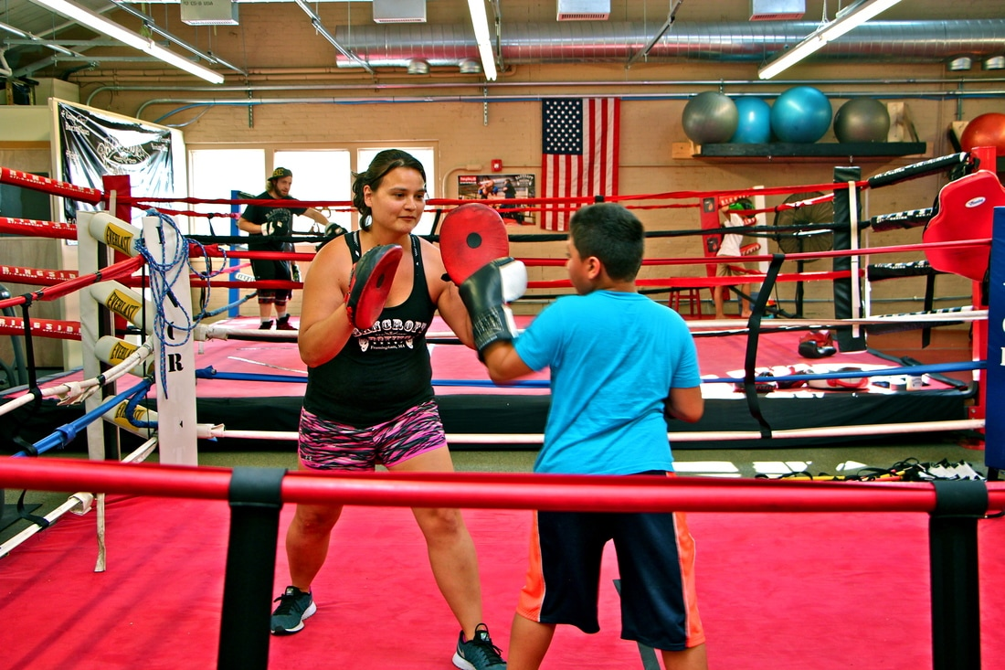 Youth Boxing Lessons at Bancroft Boxing and Fitness Club Framingham Ma,